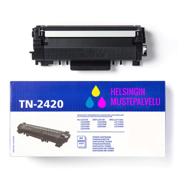 Mustekasetti Brother TN-2420 | Helsingin Mustepalvelu