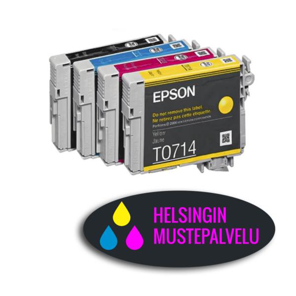 Epson T0715 Multipack monipakkaus muste   Helsingin Mustepalvelu