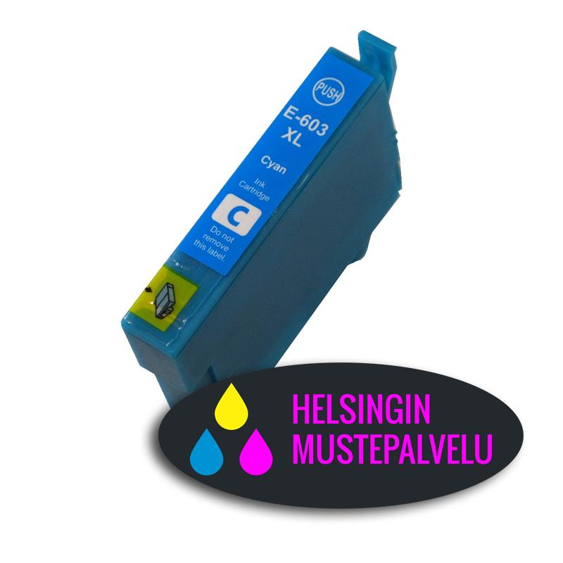 Epson 603 xl cyan sininen   Helsingin Mustepalvelu