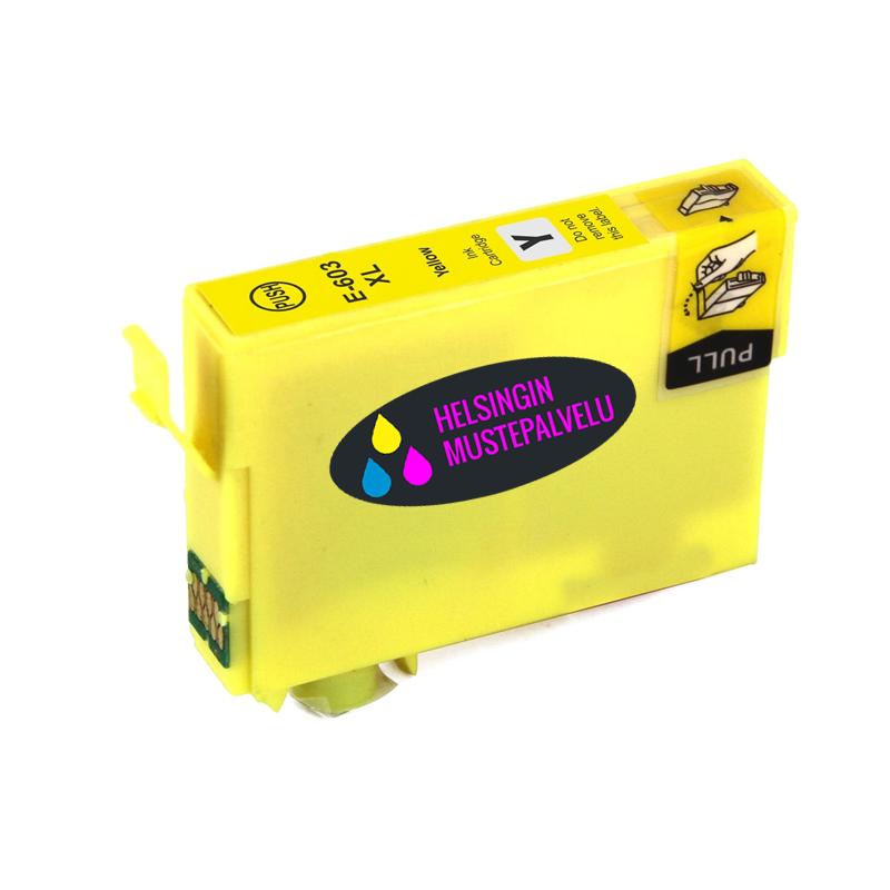 Epson 603 xl yellow keltainen | Helsingin Mustepalvelu