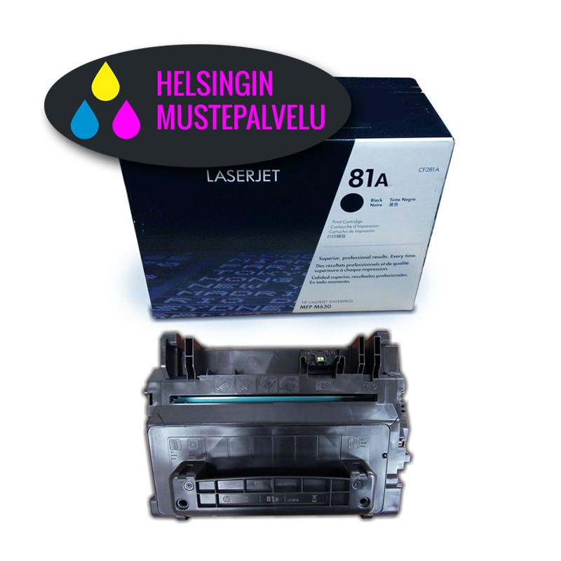 HP CF281A mustekasetti   Helsingin Mustepalvelu