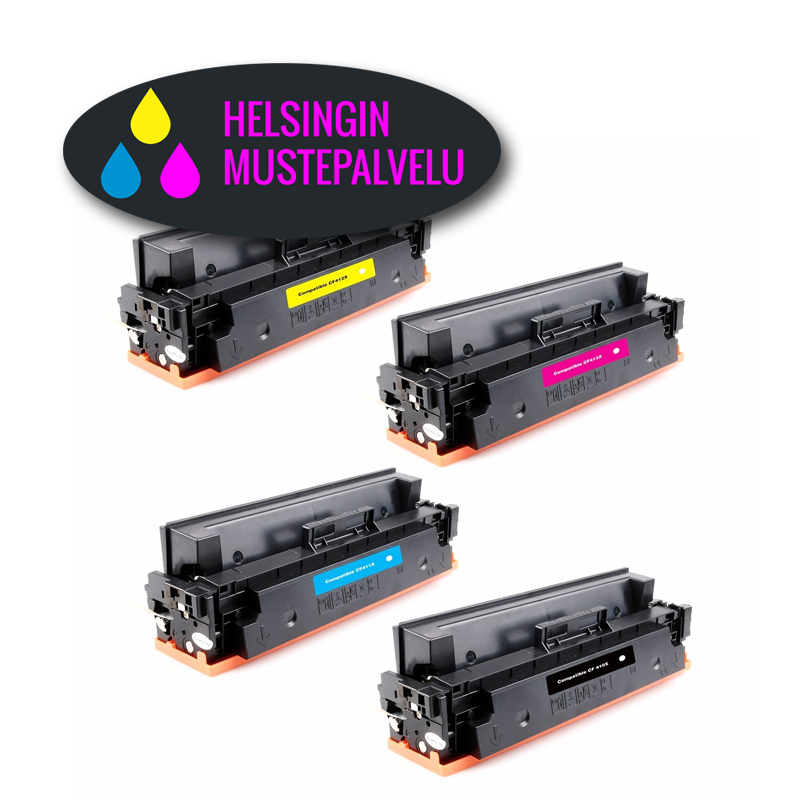 Hp CF410X-CF413X 4-kasetin väripakkaus | Helsingin Mustepalvelu